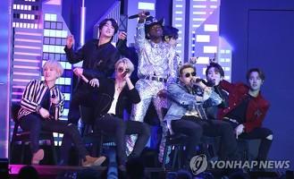 방탄소년단, 한국 가수 첫 그래미 공연…대중음악사 또 한획