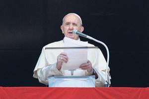 프란치스코 교황이 김대선 신부 탄생 200주년을 맞아 축하 메시지를 전했다. [로이터]