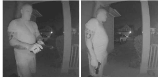 로널드 찰스 린치(51)가 감시카메라에 포착된 모습 [출처=WSB-TV]