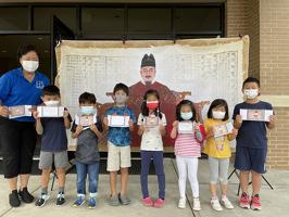 냇가에 심은 나무 한국학교는 지난 2일 세종대왕의 훈민정음 반포 575 돌을 기념하여 한글날 행사를 열었다.