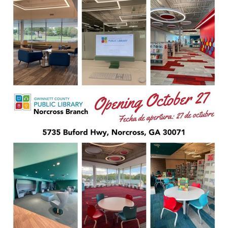 노크로스 도서관이 27일 새롭게 오픈했다.